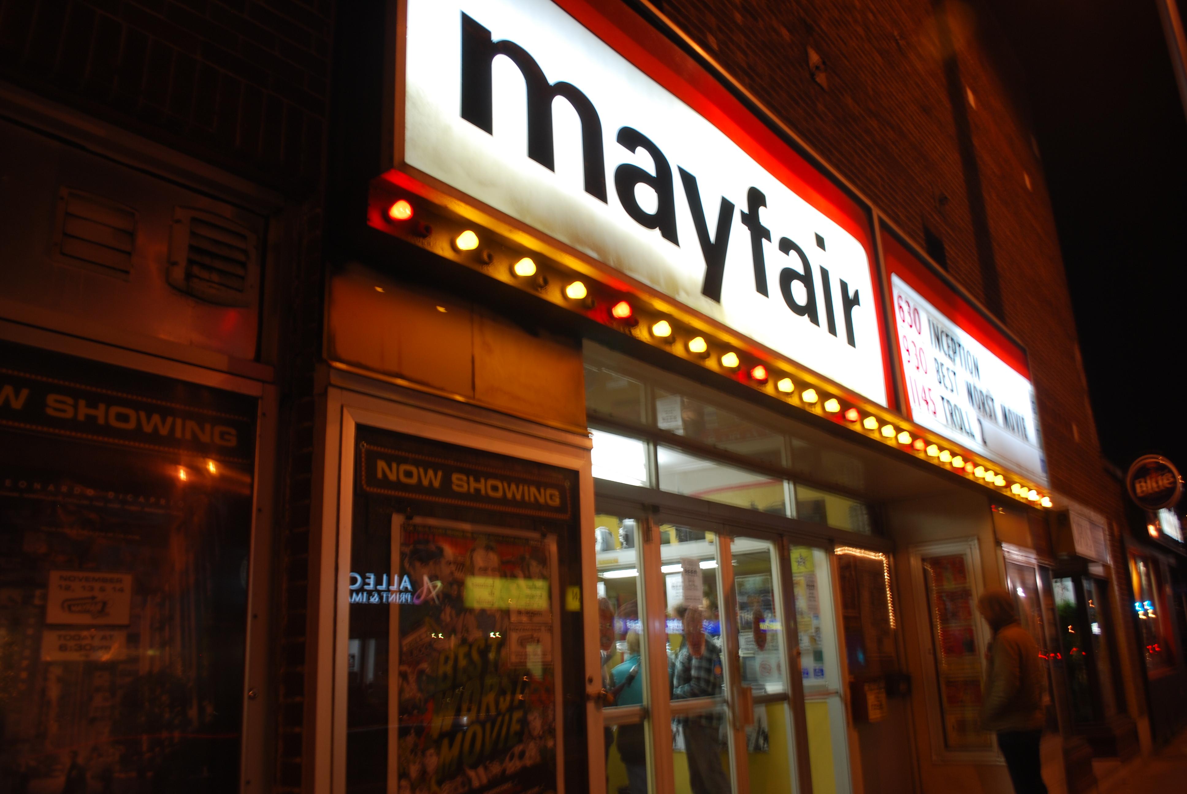 Mayfair movie threater